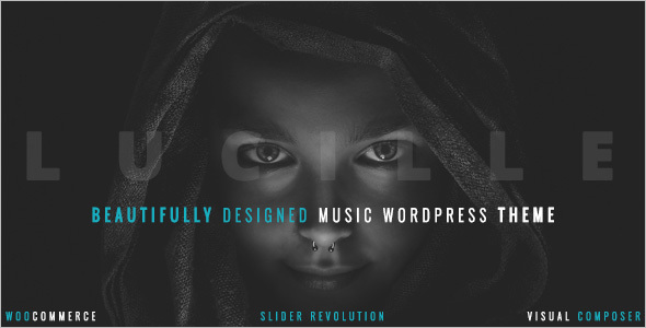 Beautiful Music WordPress Theme