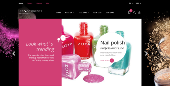 Beauty Items PrestaShop Theme