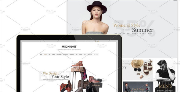 Best Fashion Bootstrap Template