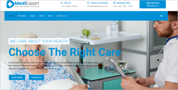 Best Medical Care HTML Template