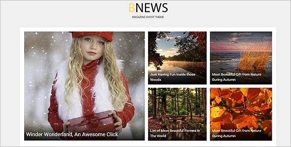 Best News Blog Template