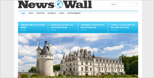 Best News Website HTML Template
