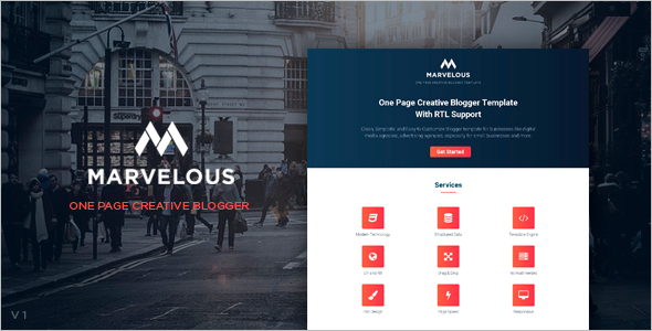 Best Professional Blogger Template