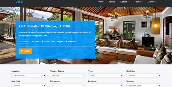 Best Real Estate Blog Template