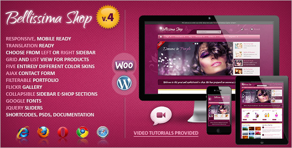 Best Responsive WooCommerce Template
