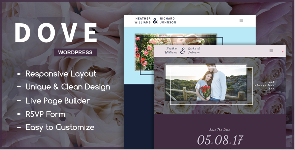 Best Wedding WordPress Theme