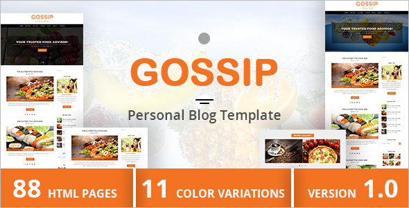 Blog Design Template