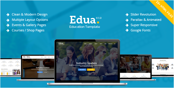 Blog Education WordPress Theme