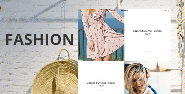 Blog Magazine Fashion Template