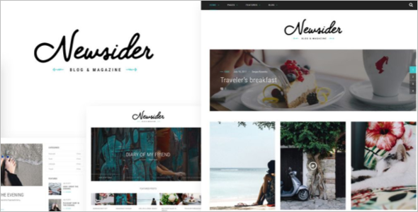 Blogger News Template