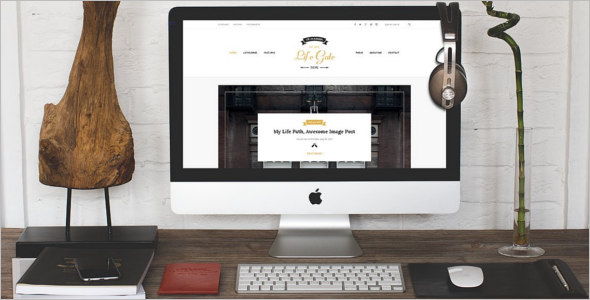 Blogger Website Template