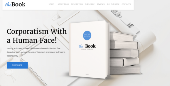 Book WordPress Theme