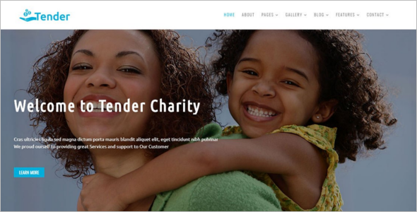 Bootstrap Charity Template