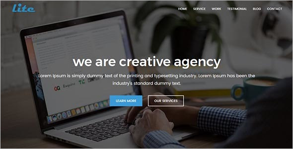 Bootstrap Digital Agency Template