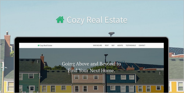 Bootstrap Real Estate HTML Template