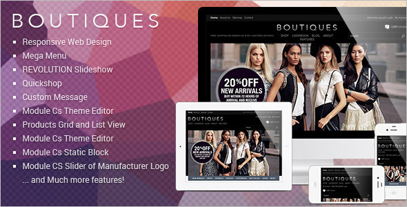 Boutique PrestaShop Template