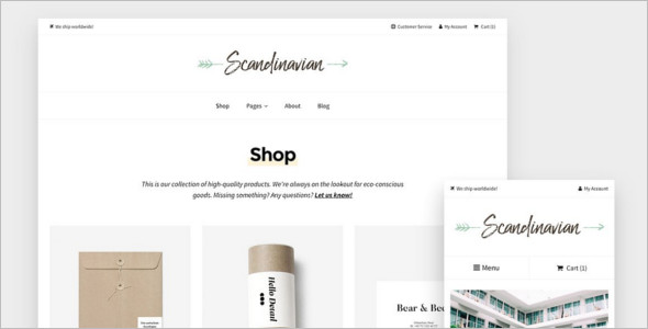 Brand Fashion Store WordPress Theme