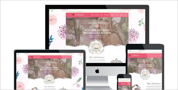 Bridal Wedding Joomla Template