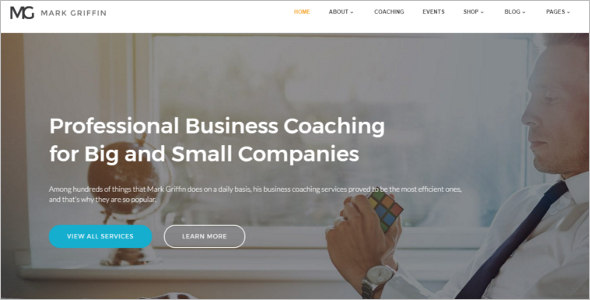 Business Adviser Bootstrap Theme