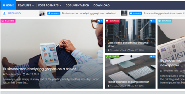 Business Blog Template