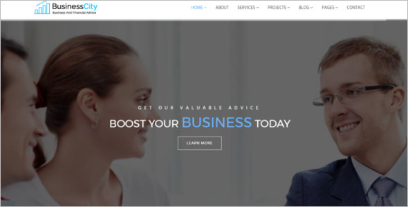 Business Bootstrap Template