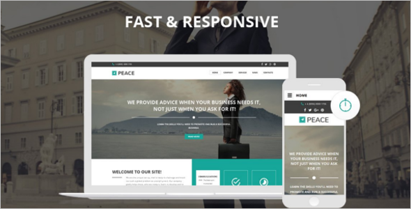 Business Consultant Website Template