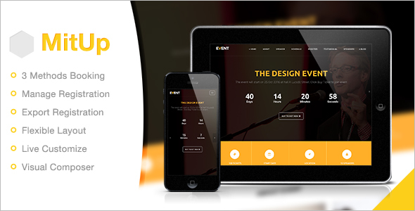 Business Event WordPress Theme