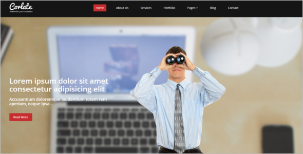 Business FreeBootstrap Template