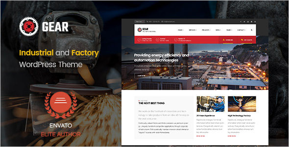 Business Industry WordPress Theme