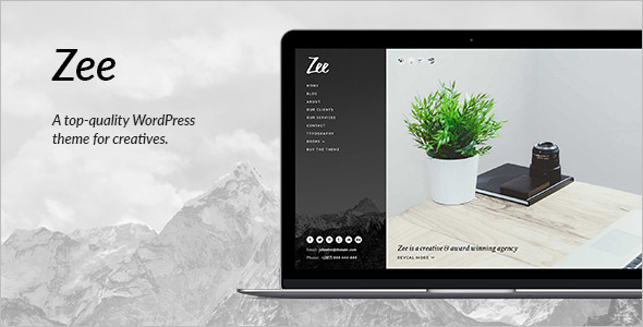 Business Portfolio WordPress Blog Theme