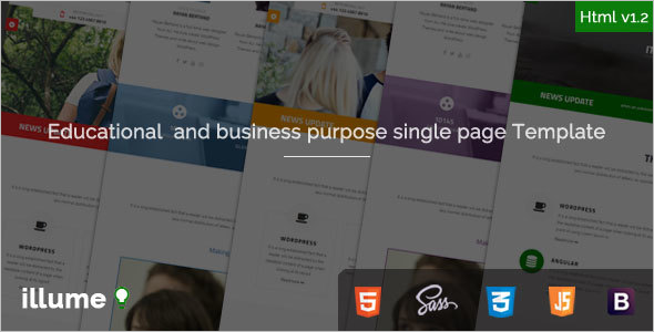 Business Purpose Bootstrap Template