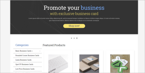 Business ZenCart Theme