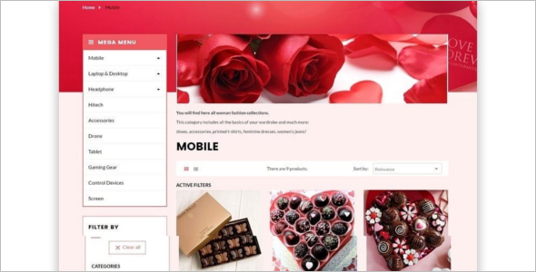 Cake Shop Prestashop Theme