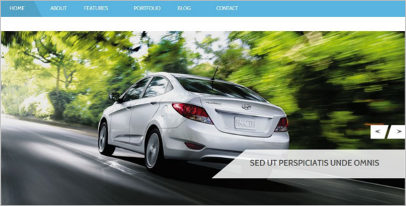Car Bootstrap Template
