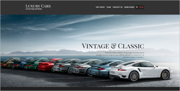 Cars Store WooCommerce Theme