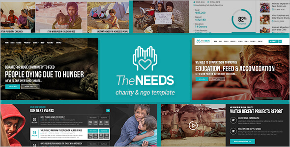 Charity Blogger Template