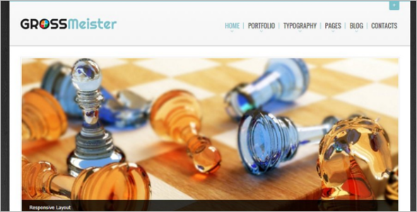 Chess HTML Template