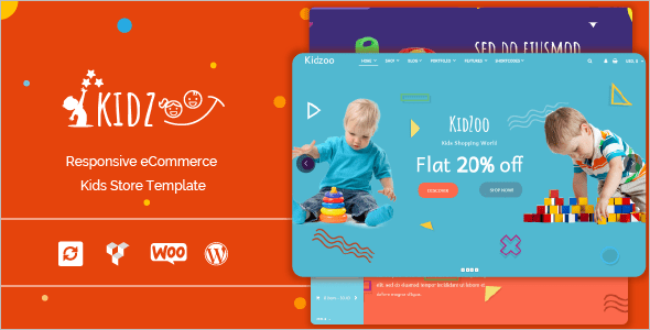 Child E-Commerce WordPress Theme