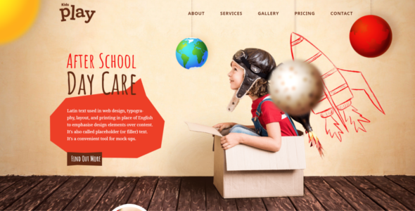 Children's WordPress Theme