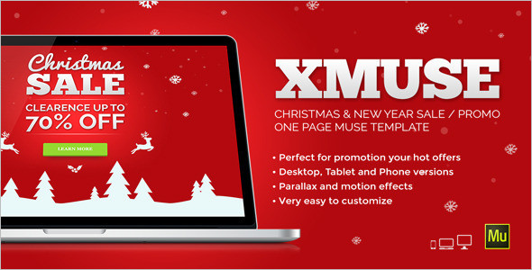 Christmas Sale WordPress Theme