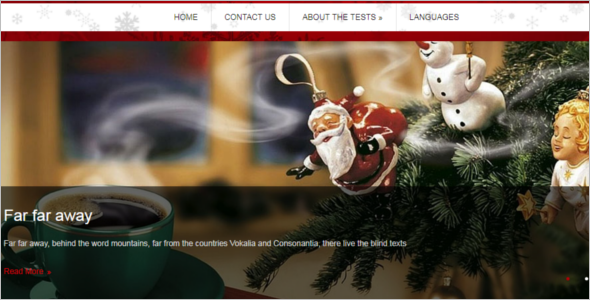 Christmas WordPress Theme