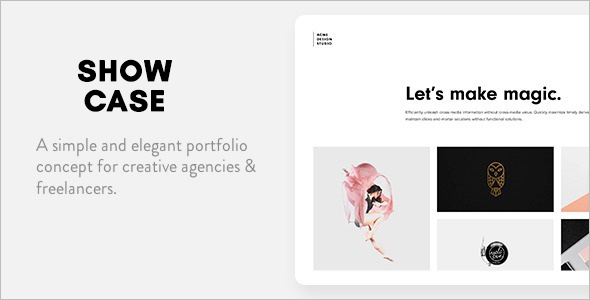 Classic Portfolio Website Template