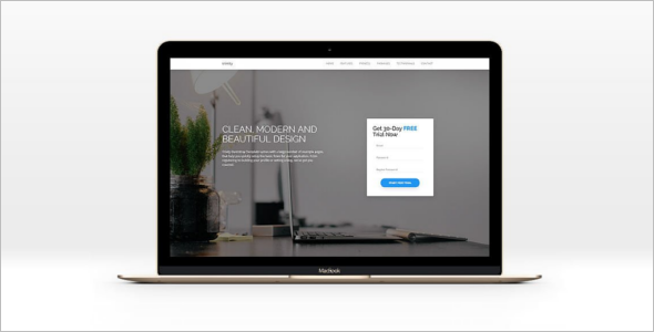 Clean Bootstrap Template