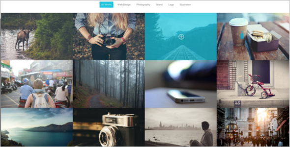 Clean Photography HTML5 Template