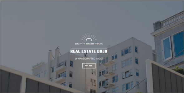 Clean Real Estate Blog Template