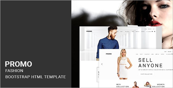 Clothing Store HTML Template