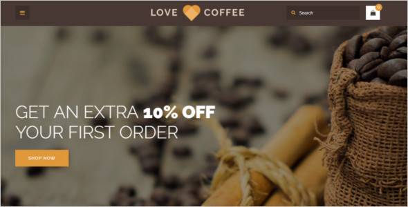 Coffee Responsive OpenCart Template