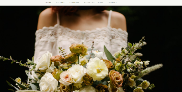 Colorful Wedding Event WordPress Theme