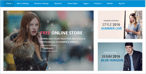 Commercial WooCommerce Theme
