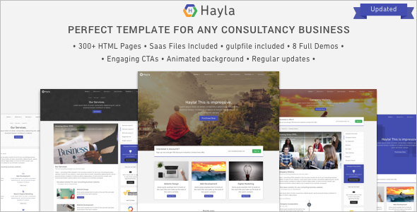 Company Website Template